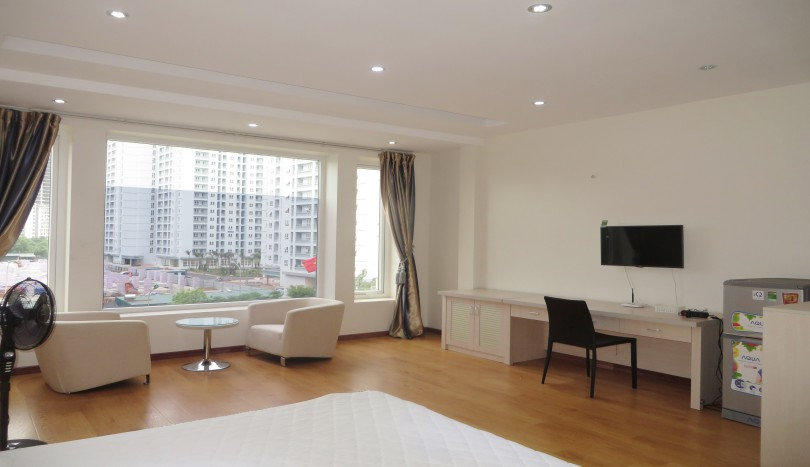 Serviced apartment 1 bedroom to rent in Cau Giay, Yen Hoa