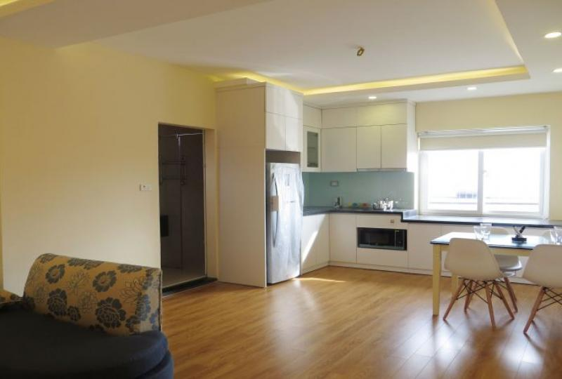 Serviced apartment 1 bedroom to rent in Tay Ho, near Ciputra
