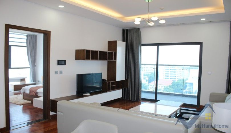 Serviced two bedroom apartment in trang an complex for rent for Apartment complex for rent
