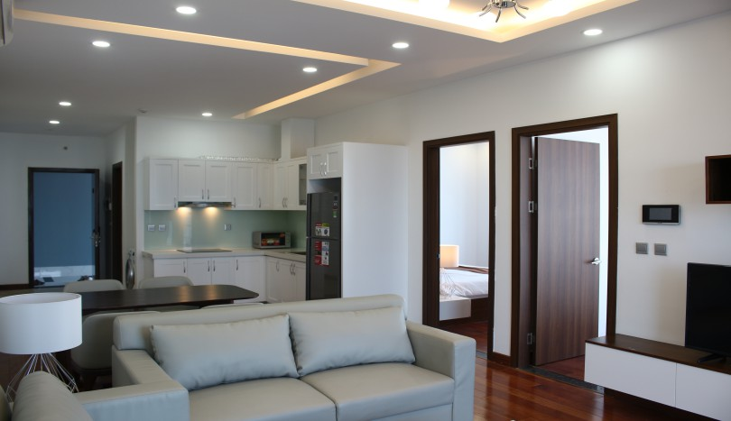 Serviced two bedroom apartment in Trang An Complex for rent