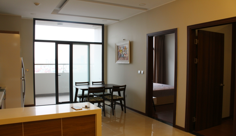 Spacious 2 bedroom apartment in Trang An Complex to rent