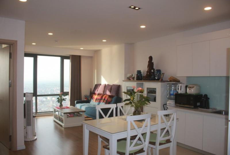 Spacious furnished 2 bedroom apartment rental in Mipec Riverside Hanoi