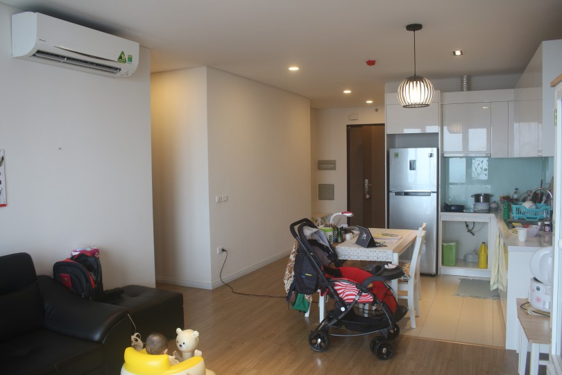 Spacious furnished apartment in Mipec Riverside Hanoi with 2 bedrooms
