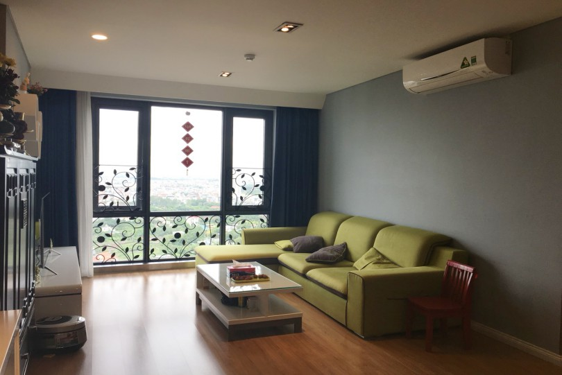 Spacious Mipec Riverside apartment rental with 2 bedrooms River view