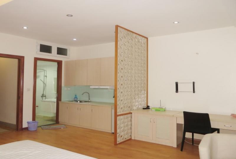 Studio apartment in Cau Giay for rent on Trung Kinh street