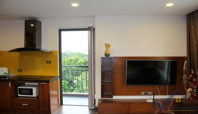 Studio apartment in Truc Bach area Tay Ho for rent