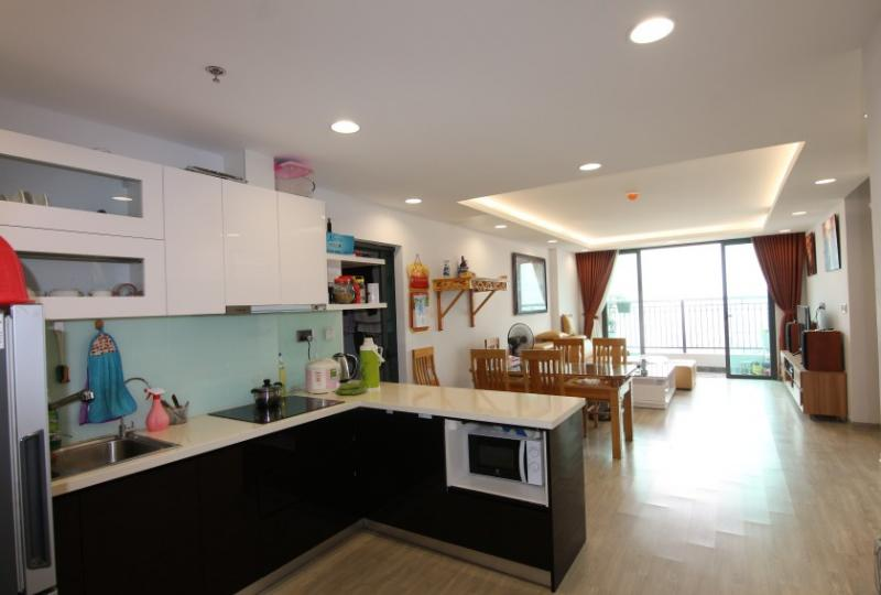 Stunning 2 beds 2 baths at One18 Ngoc Lam apartment to rent