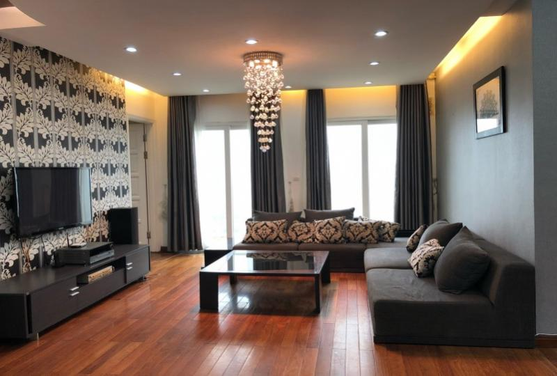 Stunning 3 bedroom Ciputra Hanoi apartment rent at E5 building