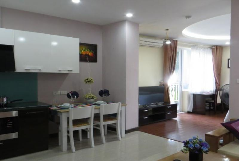 Stunning fully furnished 01 bedroom apartment for rent in Tay Ho