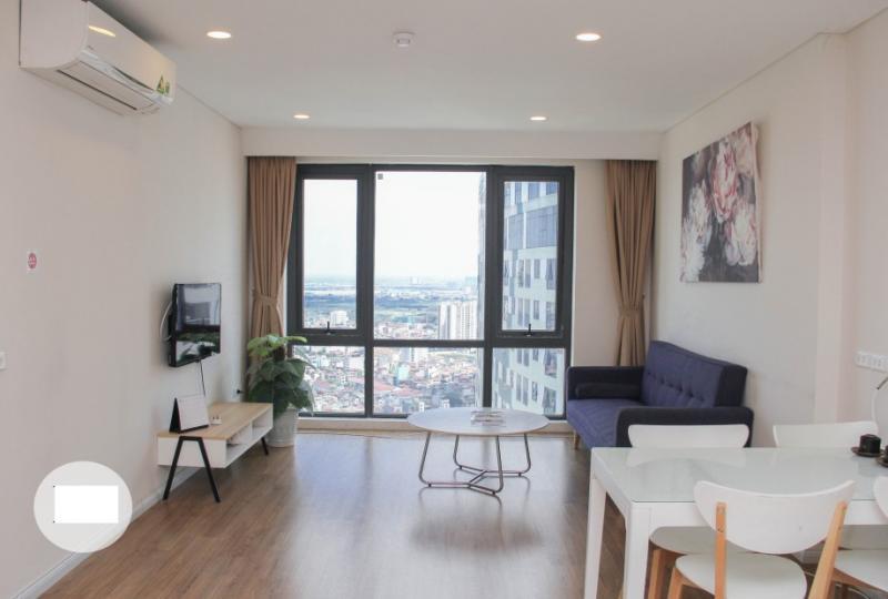 Stunning furnished 2 bedroom apartment at Mipec Riverside Hanoi