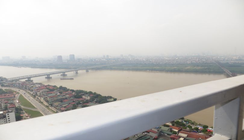 Stunning river view 3 bedroom apartment rental in Mipec Riverside