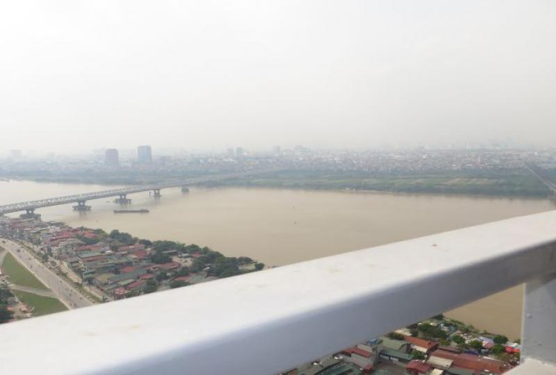 Stunning river view 3 bedroom apartment rental in Mipec Riverside