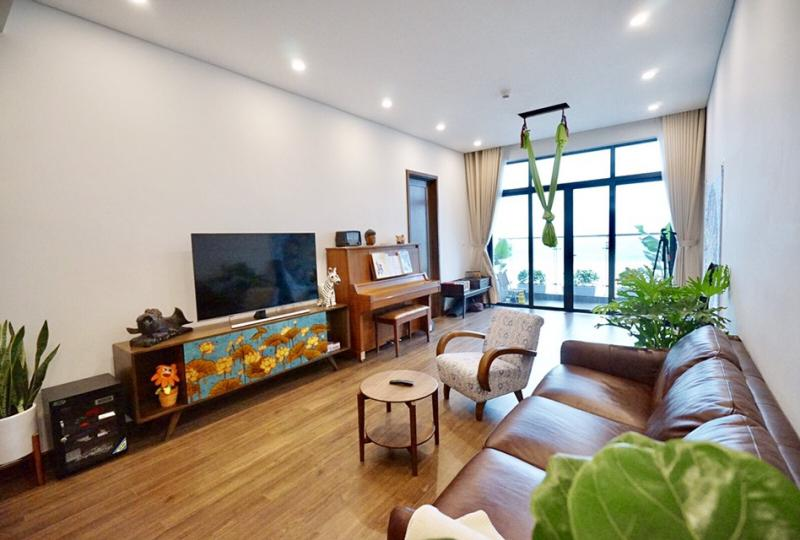 Sun Ancora Luong Yen apartment to lease with 3 bedrooms furnished