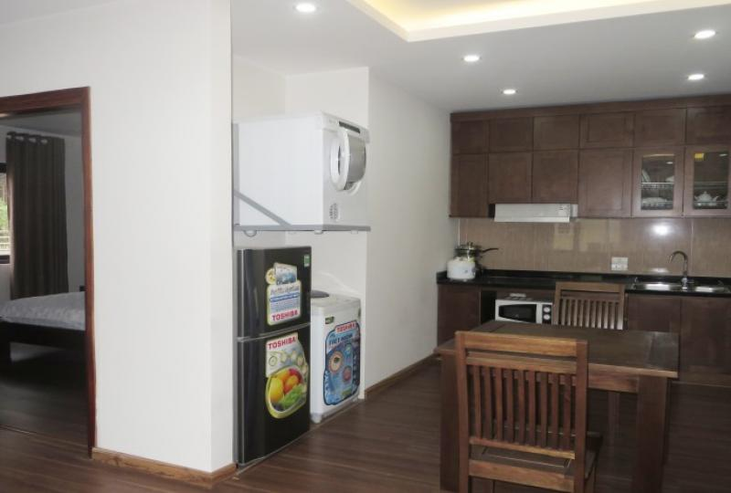 Superb one bedroom apartment for rent in Cau Giay, 4th floor
