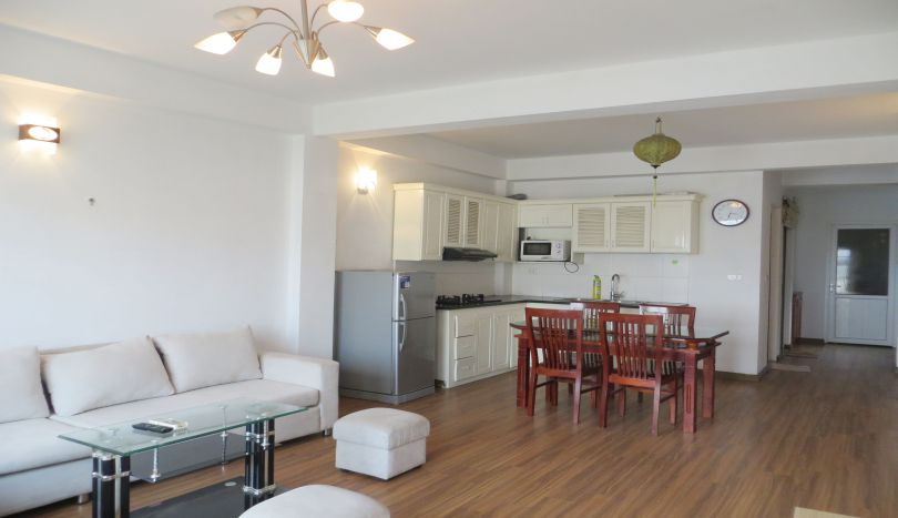 Tastefully 1 bedroom for rent in Tay Ho, 2 baths furnished