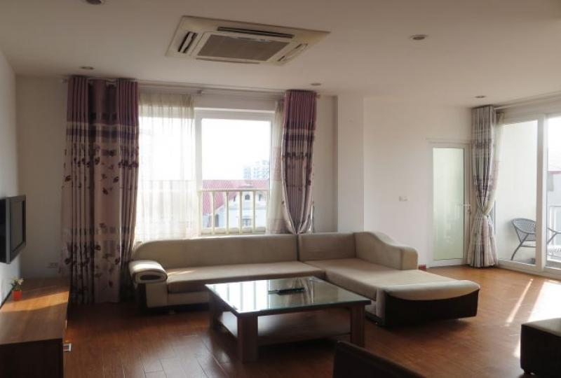 Tay Ho 2 bedroom apartment to rent, 2 bathrooms with furnished