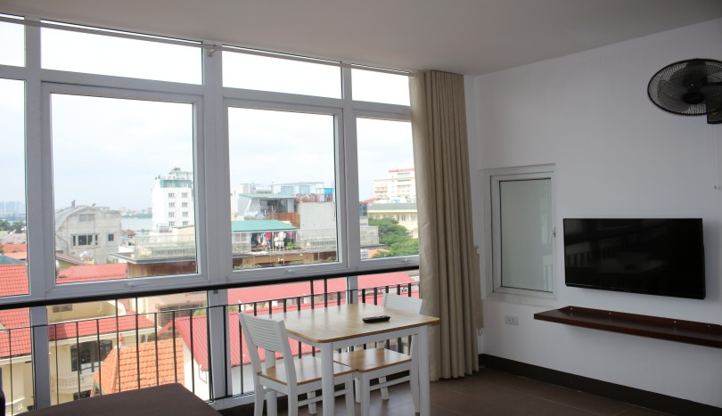 Tay Ho apartment to rent one bedroom furnished with shower room