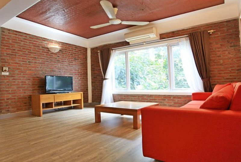 Tay Ho apartment to rent with balcony 1 bedroom 1 bathroom