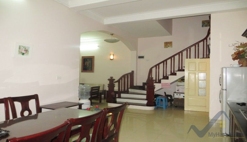 Tay Ho house rental with 5 bedrooms furnished Yen Phu village