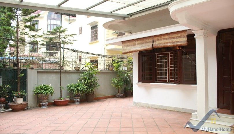 Terraced house on To Ngoc Van street for rent five bedrooms