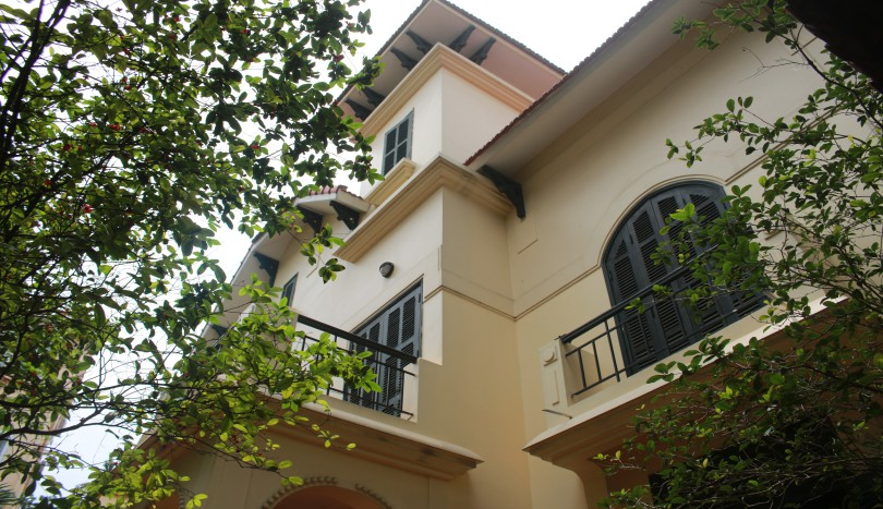 Three bedroom house in To Ngoc Van, Tay Ho to rent