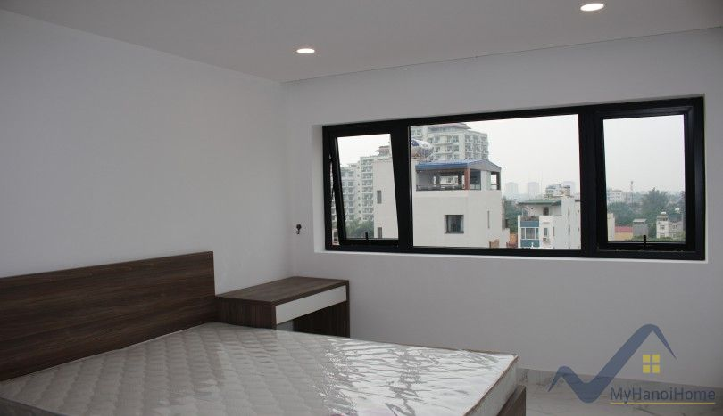 Top floor lake view 2 bedroom apartment Tay Ho furnished