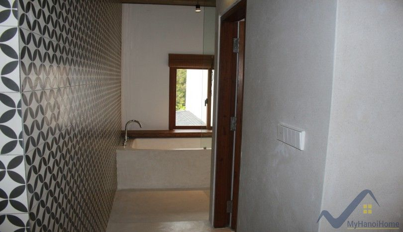 Traditional architectural design house in Tay Ho for rent 3 beds