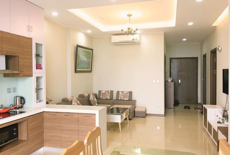 Trang An Complex apartment 2 + 1 bedroom furnished to rent