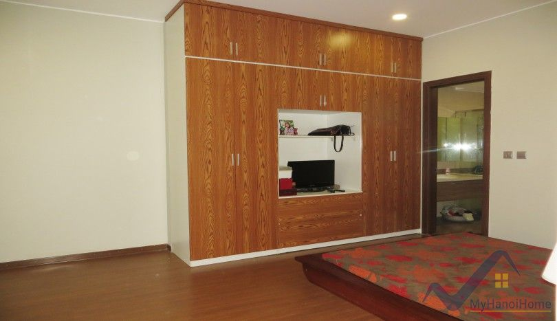 Trang An Complex apartment two bedrooms furnished with balcony