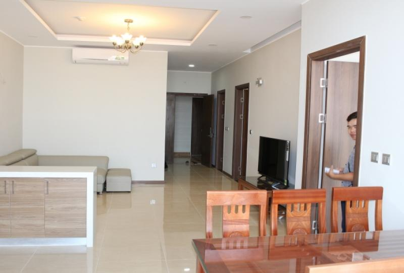 Trang An Complex apartment with 2 + 1 bedroom, balcony