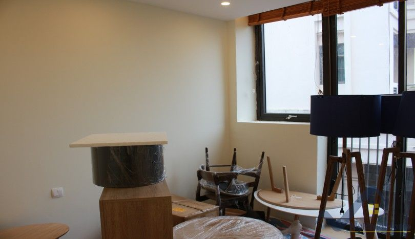 Two bedroom apartment for rent in Tay Ho with open view