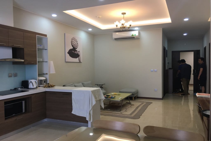 Two double bedroom apartment in Trang An Complex for lease