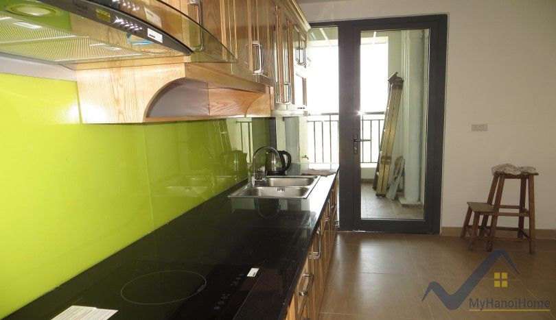 Unfurnished 3 bedroom apartment in Ecolife Tay Ho for rent