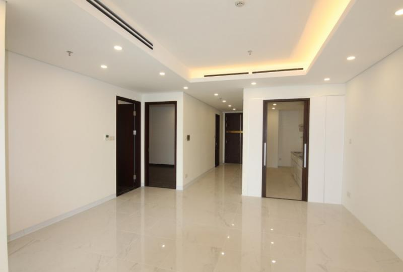 Unfurnished 3 bedroom apartment to rent Hanoi Aqua Central City view