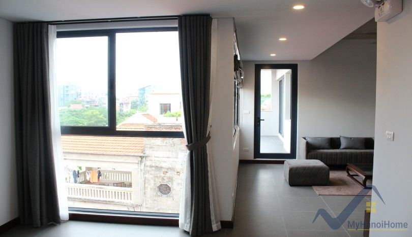 Unique new apartment in Nghi Tam village Tay Ho 2 beds