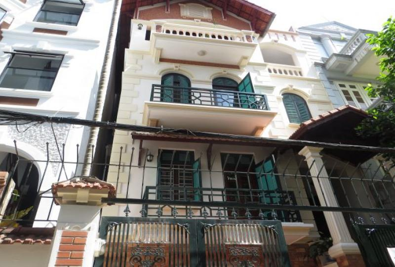 Unique style 4 bedroom furnished house to rent in Tay Ho