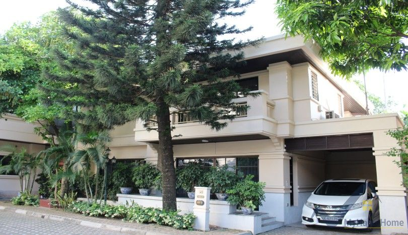 Villa for rent in Tay Ho Hanoi including swimming pool, gym
