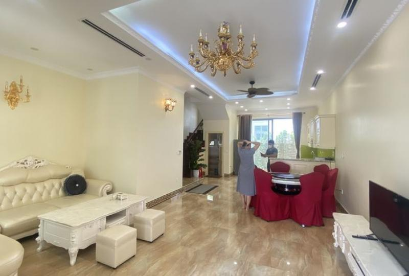 Vinhomes Harmony house for lease with furnished nearby Vinschool