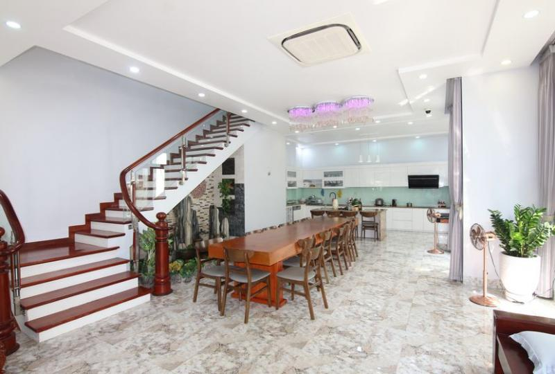 Vinhomes Harmony villa for rent with furnished 04 bedrooms