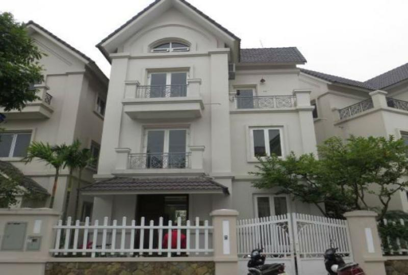 Vinhomes Long Bien 4 bedroom villa to rent, furnished Hanoi