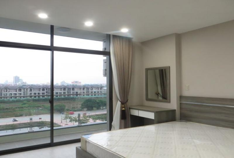 Water park view 1 bedroom apartment to let in Tay Ho