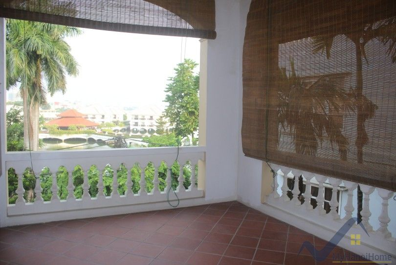 West Lake view Tay Ho house rental 3 bedrooms 3 baths