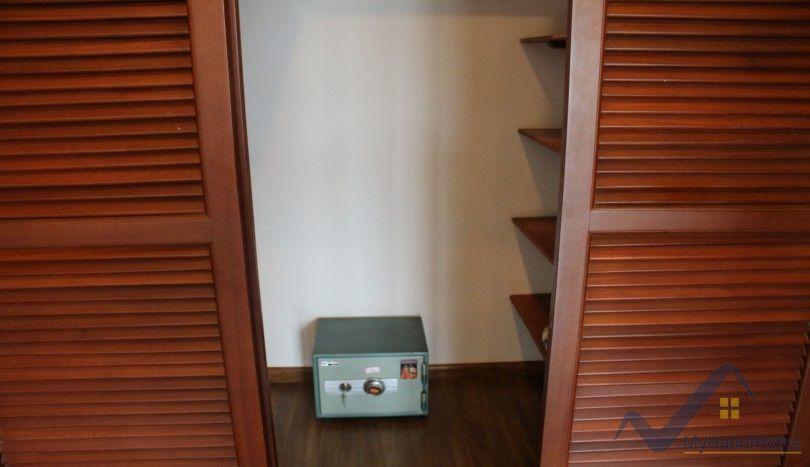 Westlake view balcony three bedroom apartment in Tay Ho Hanoi
