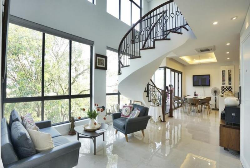 Westlake view duplex 2 bedroom apartment in Vong Thi, Tay Ho