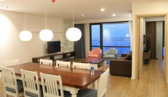 Apartment Mipec Long Bien tower to let with 3 bedrooms furnished