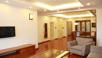 Furnished two bedroom apartment in Tay Ho for rent, close Waterpark