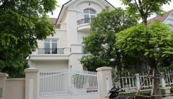 Large unfurnished detached villa to rent in Vinhomes Riverside near Almaz