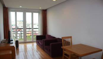 Tay Ho one bedroom apartment for rent on Xuan Dieu street