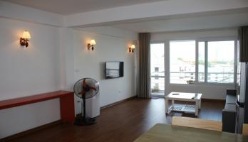 Westlake view balcony 01 bedroom apartment in Tay Ho for rent